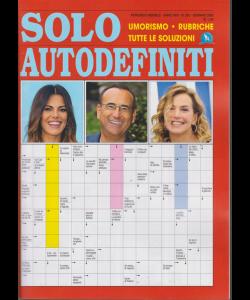 Solo autodefiniti - n. 285 - mensile - gennaio 2019 -