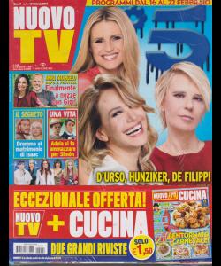 Nuovo Tv + - Nuovo Cucina - n. 7 - 19 febbraio 2019 - settimanale - 2 riviste