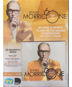 Ennio Morricone - n. 4 - settimanale - 17/12/2019 - Years of music
