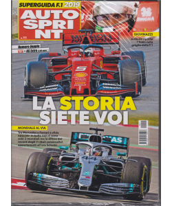 Autosprint - +  Autosprint extra - n. 11 - settimanale - 12-18 marzo 2019 - 2 riviste