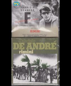 Le raccolte musicali di Sorrisi n. 21 - 10 dicembre 2019 - Fabrizio De Andrè - Ridammi la mano -  uscita n. 10 - Rimini - cd + libretto inedito
