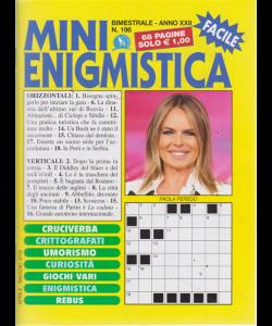 Mini Enigmistica - n. 196 - bimestrale - aprile - magiio 2019 - 68 pagine
