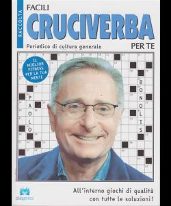 Raccolta facili cruciverba per te - n. 8 - bimestrale - 15/3/2019
