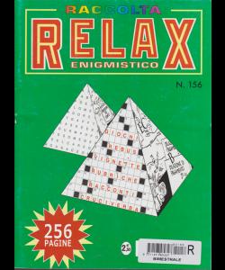 Raccolta Relax enigmistico - n. 156 - bimestrale - ottobre - novembre 2017 - 256 pagine -