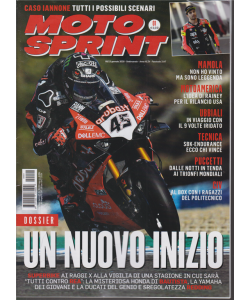 Moto sprint - n. 1 - 8/13 gennaio 2020 - settimanale