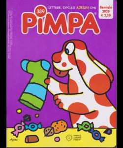 Letture, giochi  e adesivi con Pimpa - n. 389 - gennaio 2020 - mensile