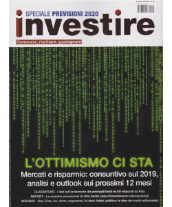 Investire -Speciale previsioni 2020 -  n. 12 - gennaio 2020 - mensile