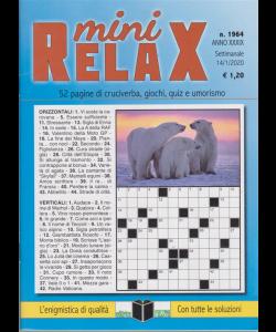 Mini relax - n. 1964 - settimanale - 14/1/2020