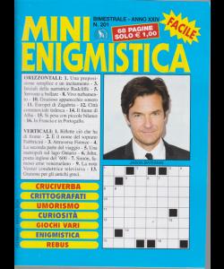 Mini enigmistica facile - n. 201 - bimestrale - febbraio - marzo 2020 - 68 pagine