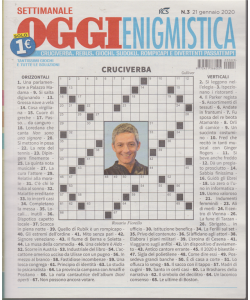 Oggi enigmistica - settimanale - n. 3 - 21 gennaio 2020