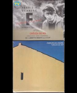 Le raccolte musicali di Sorrisi - n. 2 - 14 gennaio 2020 - Fabrizio De Andrè - uscita n. 15 - Creuza de ma - cd + libretto inedito