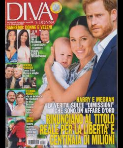 Diva e donna - n. 3 - 21 gennaio 2020 - settimanale femminile