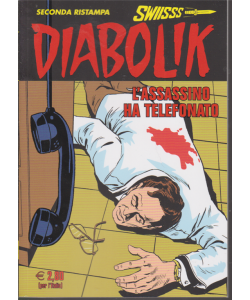 Diabolik - seconda ristampa - L'assassino ha telefonato - n. 308 - mensile - 20/1/2020