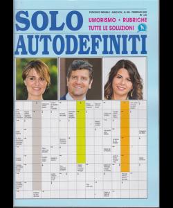 Solo autodefiniti - n. 286 - mensile - febbraio 2020