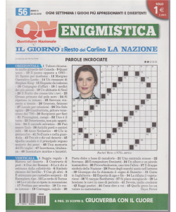 Enigmistica - n. 56 - 25/3/2019 - settimanale