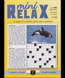 Mini Relax - n. 1965 - settimanale - 21/1/2020 -