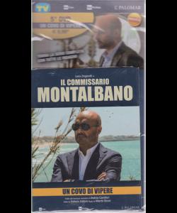 I Dvd Di Sorrisi Collection 5 - Un Covo Di Vipere - 5° dvd - Luca Zingaretti in Il commissario Montalbano - aprile 2019 - settimanale -