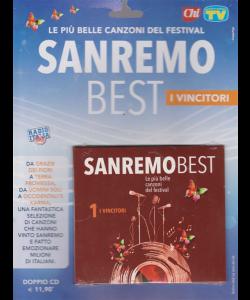 Cd Sorrisi e canzoni n. 6 - Sanremo best - 1 i vincitori - settimanale - 4/2/2020 - doppio cd