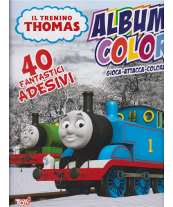 Il trenino Thomas - Album color - n. 36 - bimestrale - 16 gennaio 2020