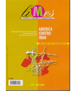 Limes - n. 1 - mensile - 7/2/2020 - America contro Iran