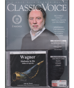 Classic Voice - n. 238 - mensile - marzo 2019 - Wagner - Sinfonia in Do - Idillio di Sigfrido - Edo de Waart