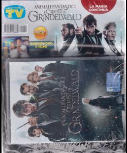 Sorrisi e canzoni tv + dvd - Animali fantastici i crimini di Grindelwald