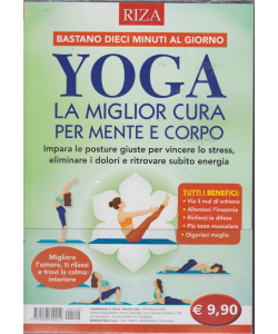 Salute naturale extra - Yoga la migliore cura per mente e corpo - n. 129 - febbraio 2020 -
