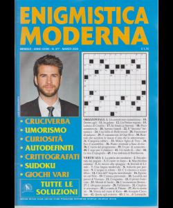 Enigmistica moderna - n. 377 - mensile - marzo 2020