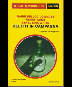 Il giallo Mondadori speciali - Delitti in campagna  -  n. 93 - bimestrale - marzo 2020 -