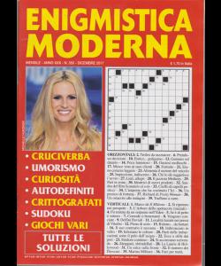 Enigmistica Moderna - n. 350 - mensile - dicembre 2017 -