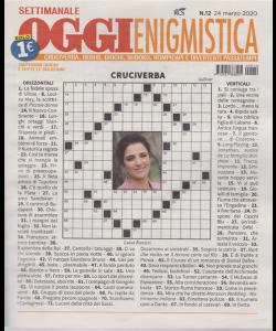 Settimanale Oggi Enigmistica - n. 12 - 24 marzo 2020 -