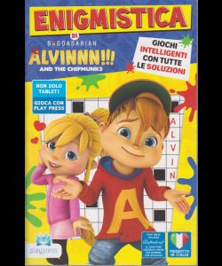 Enigmistica di Alvinnn! - And the chipmunks n. 5 - bimestrale - aprile - maggio 2020 -