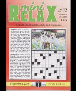 Mini Relax - n. 1975 - settimanale - 31/3/2020 -