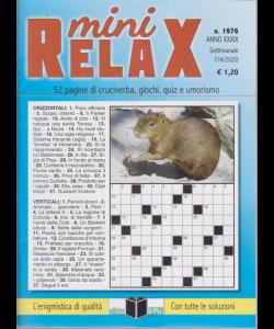 Mini Relax - n. 1976 - settimanale - 7/4/2020 -