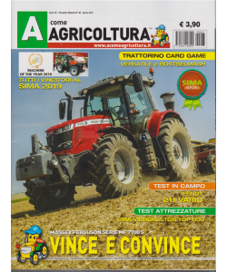 A Come Agricoltura - n. 63 - aprile 2019 - mensile