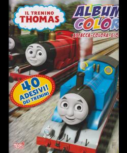 Il trenino Thomas - Album color - n. 31 - bimestrale - 14 marzo 2019 - 40 adesivi dei trenini