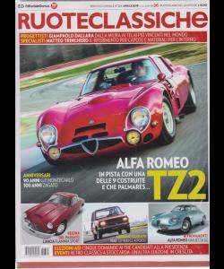 Ruoteclassiche +  Ruoteclassiche le mitiche - scoperte - terzo volume - n. 364 - mensile - aprile 2019 - 2 riviste