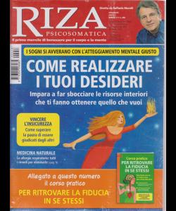 Riza Psicosomatica + il corso pratico per ritrovare la fiducia in se stessi - n. 458 - mensile - aprile 2019