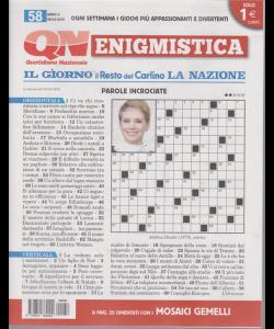 Enigmistica - n. 58 - 8/4/2019 - settimanale