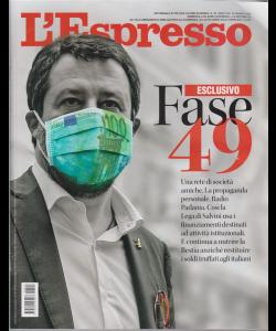 L'espresso - n. 22 - settimanale - 24 maggio 2020