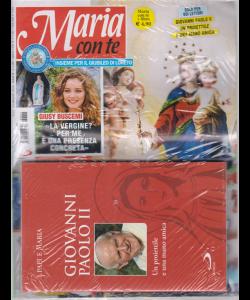 Maria con te - n. 21 - 24 maggio 2020 - settimanale + il libro I papi e Maria - Giovanni Paolo II - Un proiettile e una mano amica -