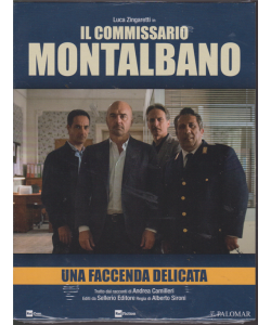 I Dvd Di Sorrisi Collection 5 - Una Faccenda Delicata -  Luca Zingaretti in Il commissario Montalbano - 2019