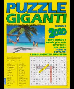 Puzzle Giganti - giugno 2020 - mensile - n. 434 -