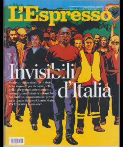 L'espresso - n. 28 - settimanale - 5 luglio 2020
