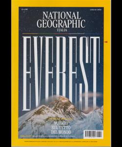 National Geographic - Everest - Numero speciale: viaggio sul tetto del mondo - n. 1 - mensile - 3 luglio 2020 -