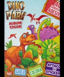 Toys2 Sticker Album color - Dino Park - n. 36 - bimestrale - 18 giugno 2020 -