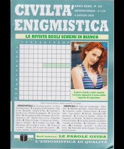 Civilta' Enigmistica - n. 423 - quindicinale - 4 luglio 2020