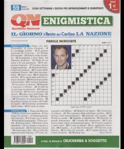 Enigmistica - n. 59 - 15/4/2019 - settimanale