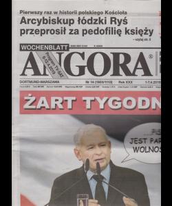 Angora - n. 14 - 1-7/4/2019 - in lingua polacca