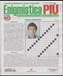 Enigmistica Piu' - n. 15 - 17 aprile 2019 - settimanale